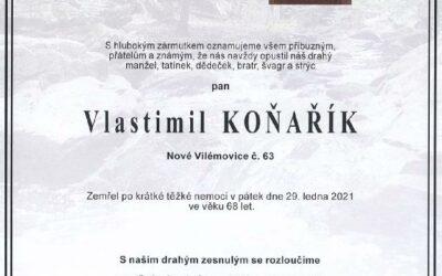 Opustil nás pan Vlastimil Koňařík, rozhodčí z výkonu pro barváře